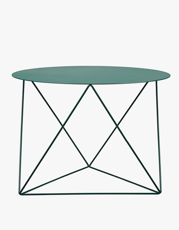 Slingpole Table L Size - Dark Green
