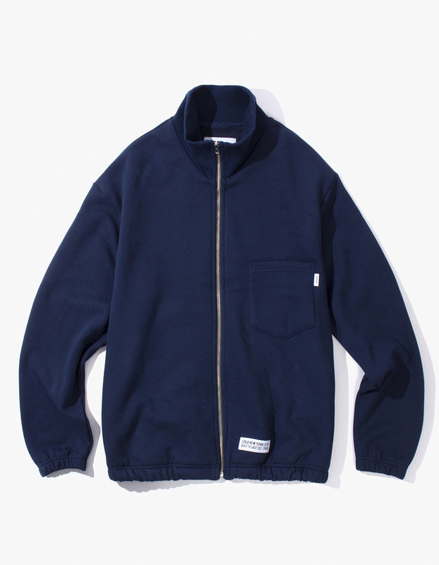 Live Free Zip-Up Sweat Jacket - Navy