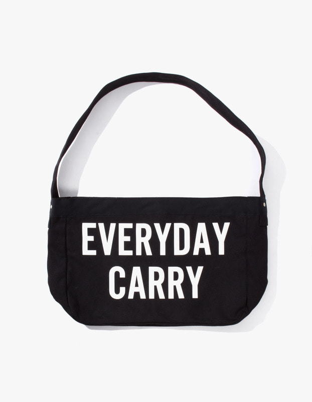 Everyday Carry Tote Bag - Black