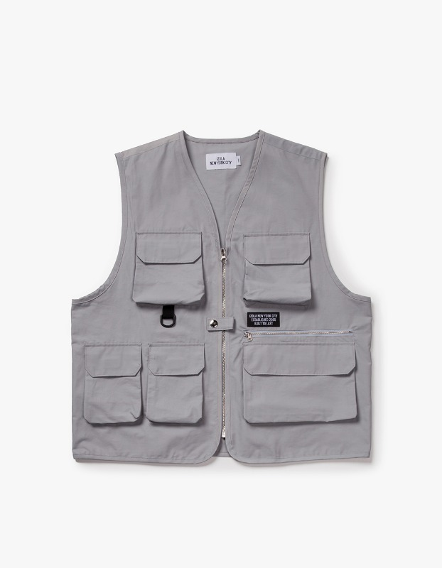 Utility Fishing Vest - Grey