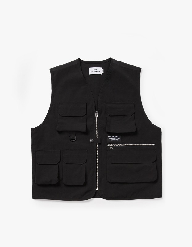 Utility Fishing Vest - Black