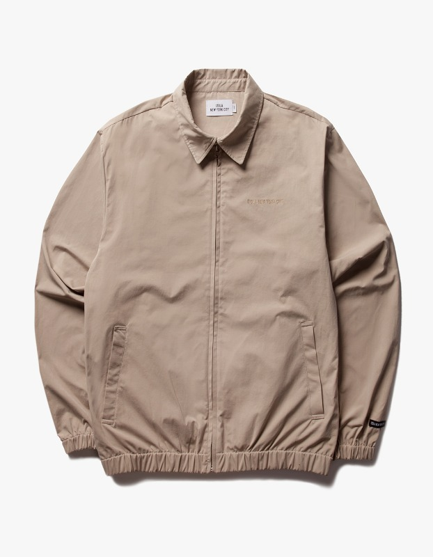 Coach ZIp Up Jacket - Beige
