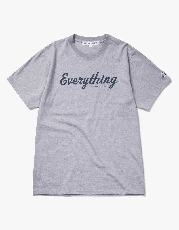 Everything S/S Tee - Heather Grey