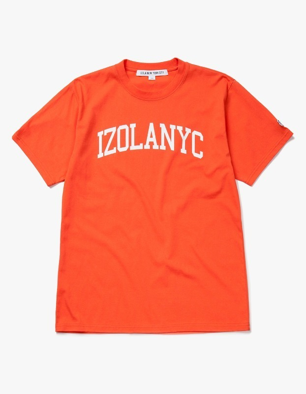 College Logo S/S Tee - Orange
