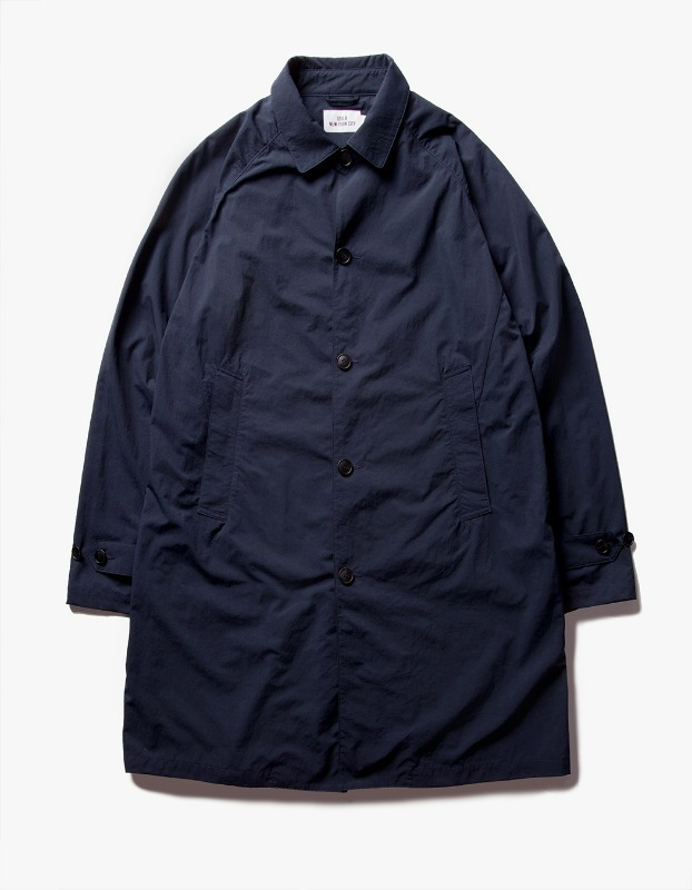 Nylon Single Coat - Navy