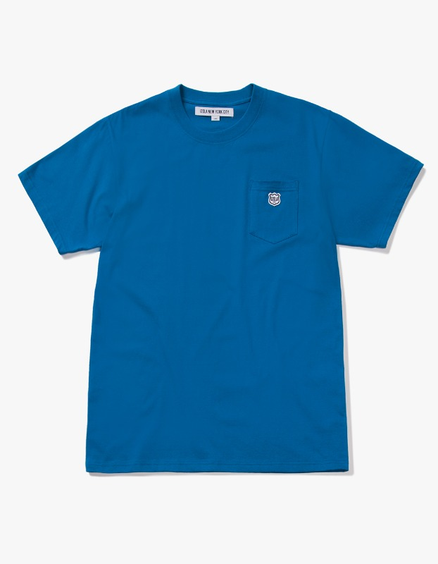 Patch S/S Pocket Tee - Deep Blue