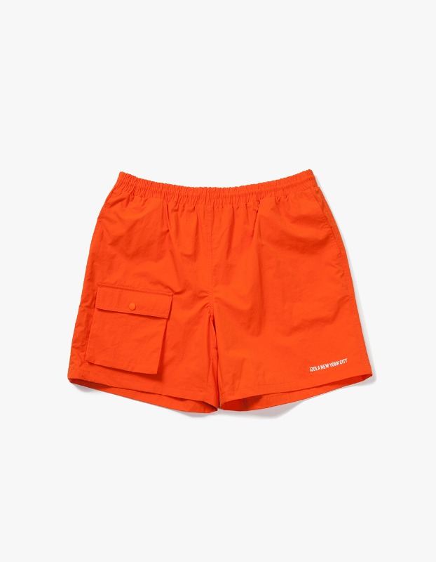 Pocket Swim Shorts - Orange