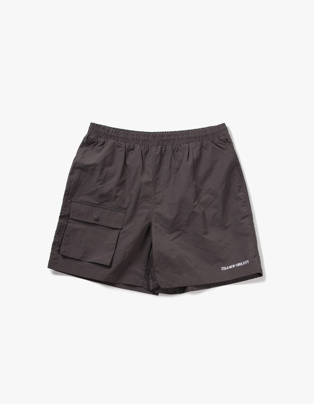 Pocket Swim Shorts - Grey