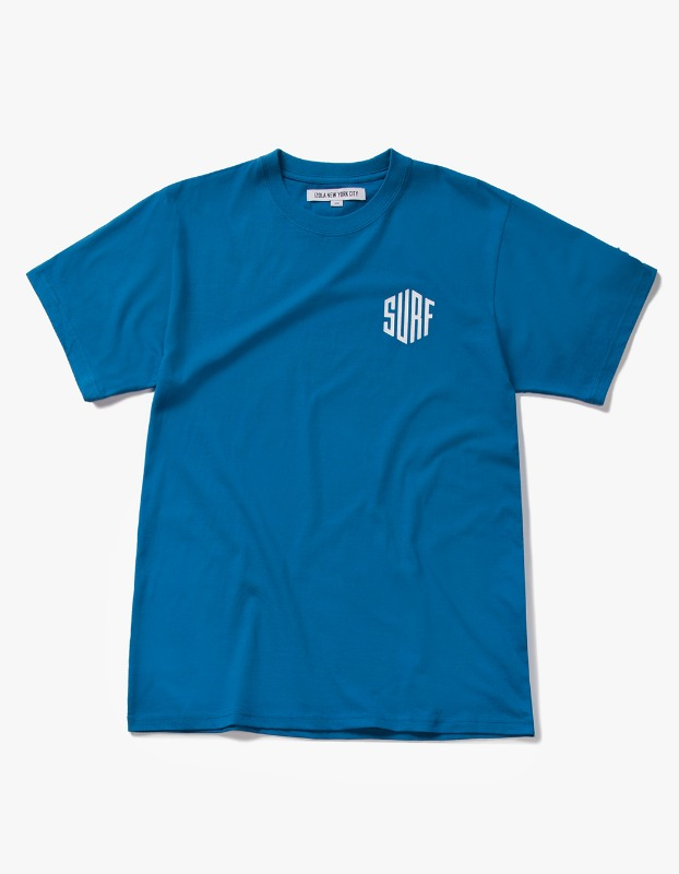 Surf S/S Tee - Deep Blue