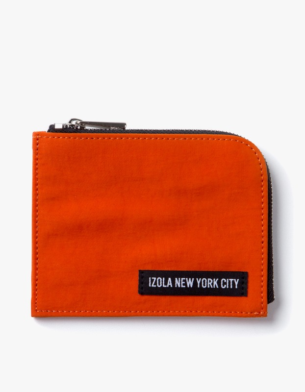Nylon Wallet - Orange