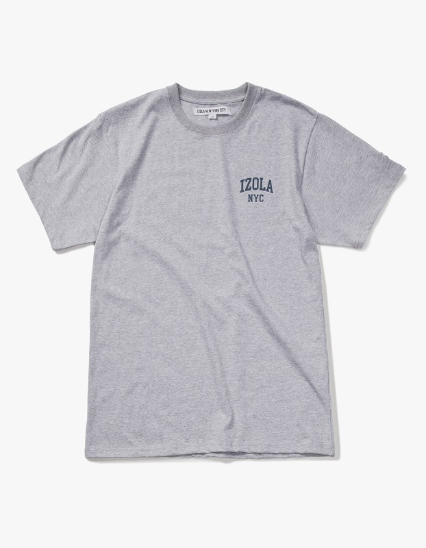 Arch Logo S/S Tee - Heather Grey