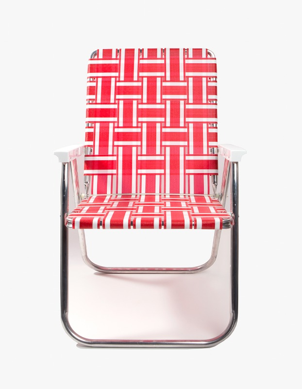 Red/White Stripe Classic Chair