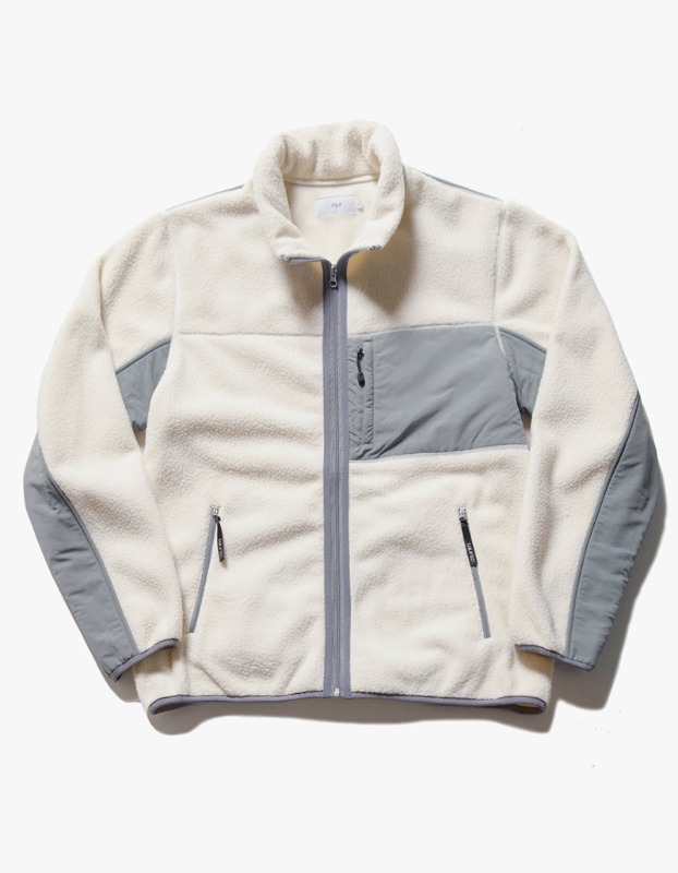 Sherpa Fleece Jacket - Cream