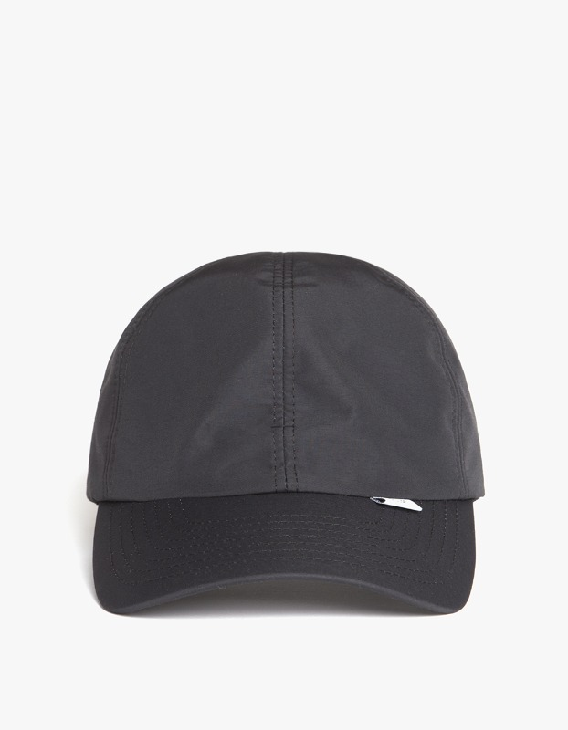 3 Layer 6-Panel Cap - Black