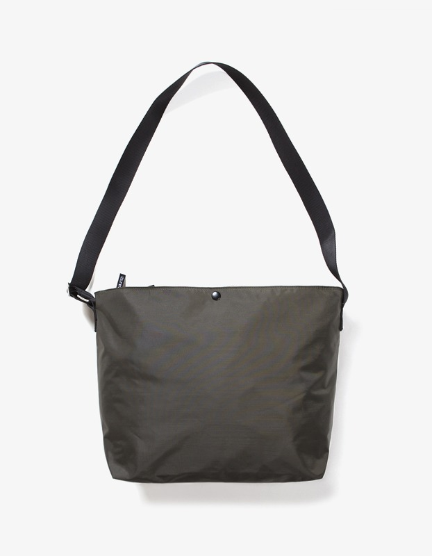 Nylon Shoulder Bag - Olive
