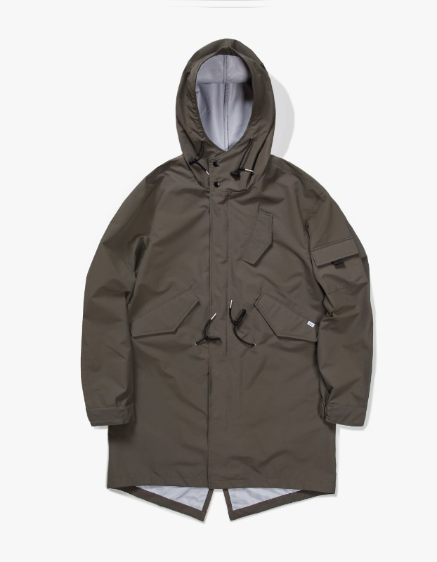 3 Layer Mods Coat - Olive