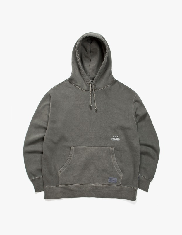 Over Dyed Hoodie - Charcoal