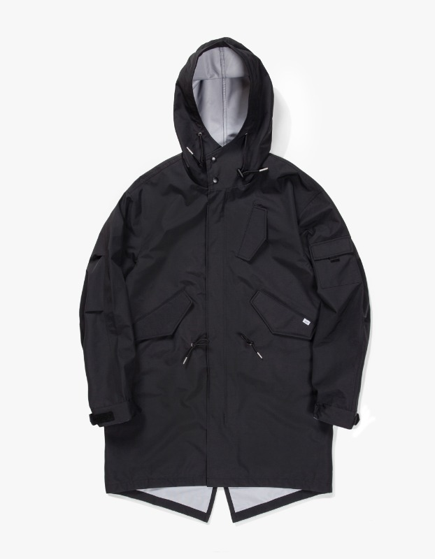 3 Layer Mods Coat - Black