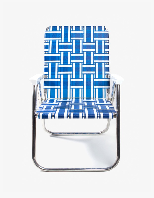 Classic Chair - Blue and White