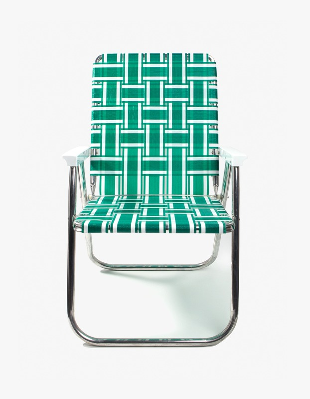 Classic Chair - Green and White