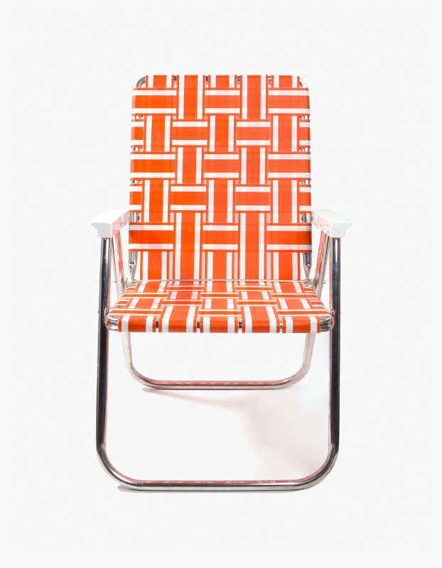 Classic Chair - Orange and White