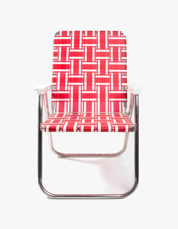 Classic Chair - Red and White
