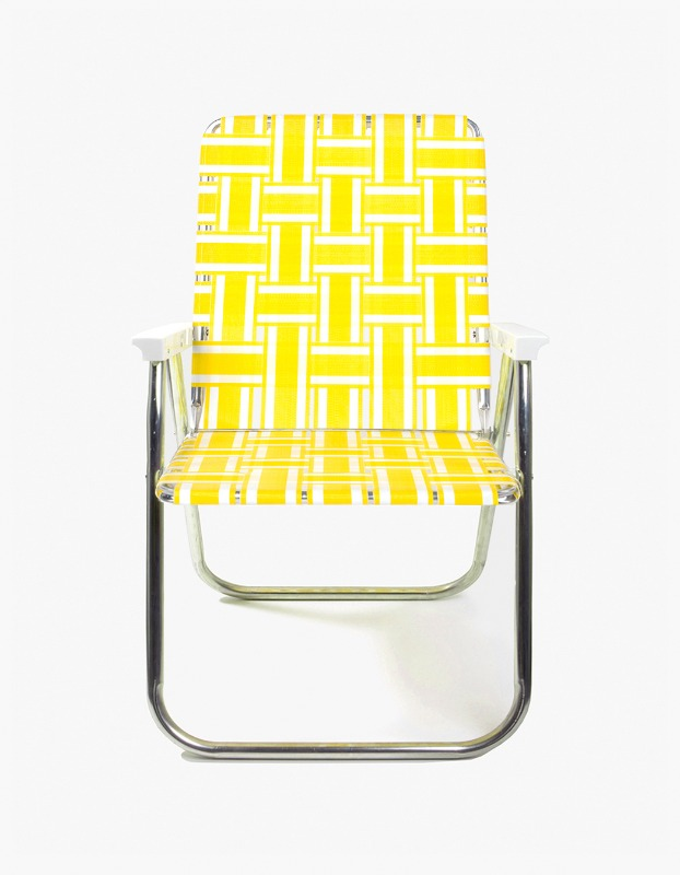 Classic Chair - Yellow and White