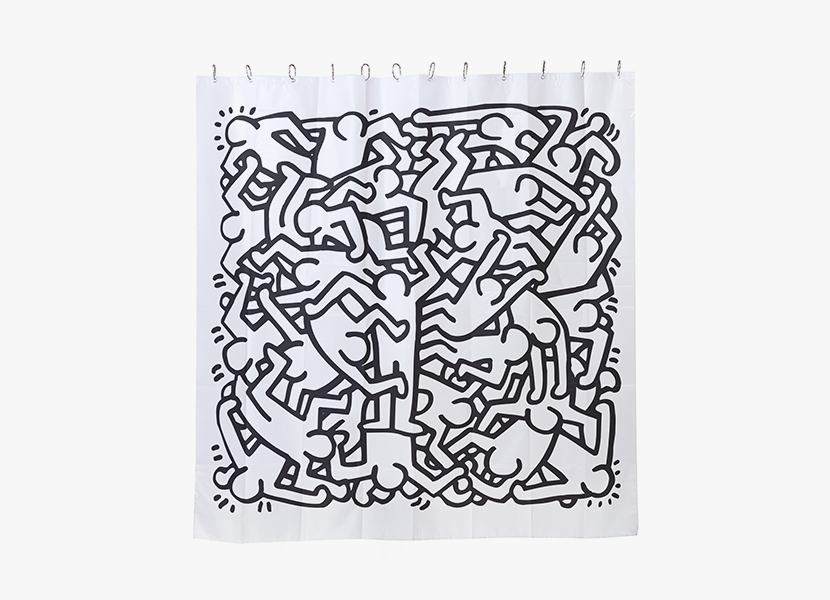 - Keith haring shower curtain ...